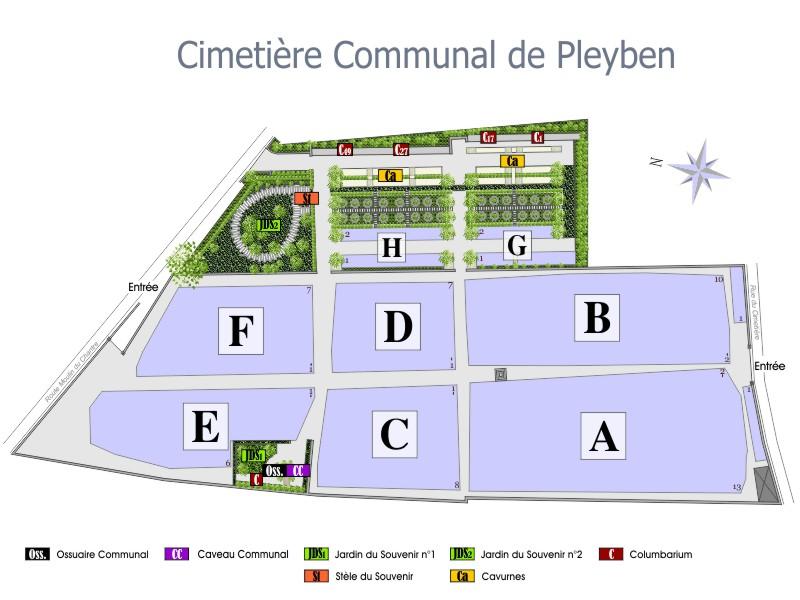 La Commune Commune Pleyben De Cimetières Cimetières La De POulwkTXZi