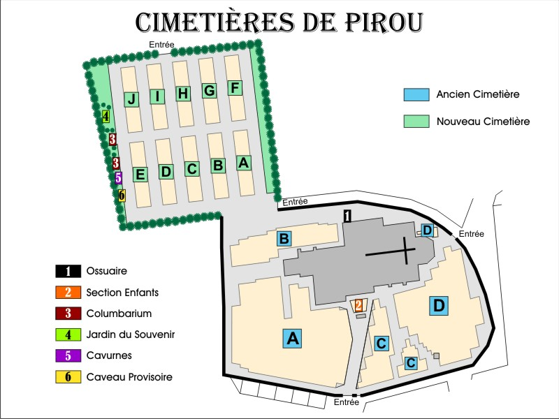Photo du cimetière de Pirou